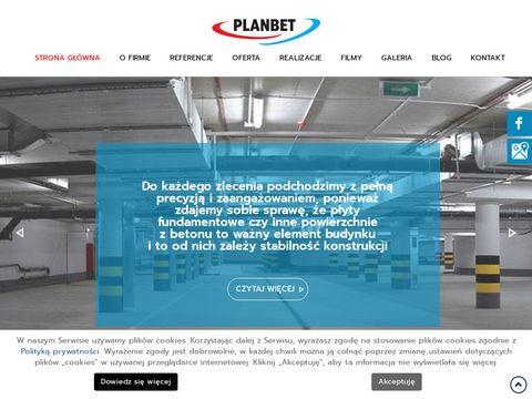 Planbet posadzki przemysłowe Gdańsk