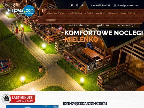 Plazowa.com domki nad morzem w Mielenku