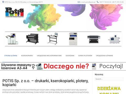 Potis.pl serwis kserokopiarek