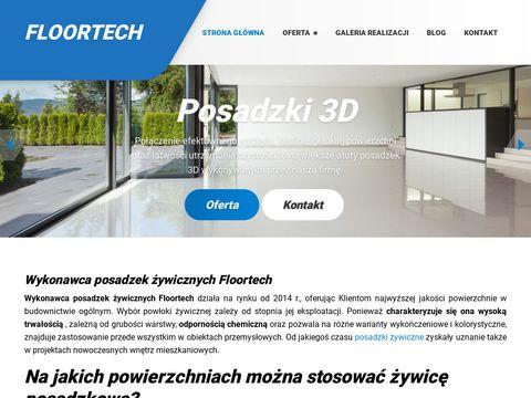 Posadzki-floortech.pl podłoga betonowa