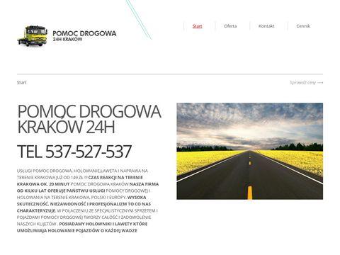 Pomocdrogowa-krakow.com.pl holowanie, laweta