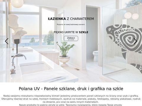 Polanauv.pl - grafika na szkle kuchnia