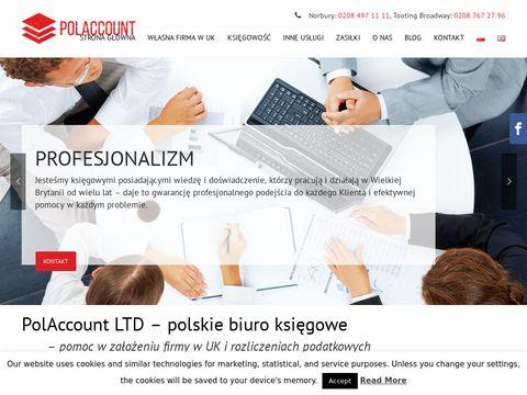 Polaccount.com polskie biuro księgowe Londyn