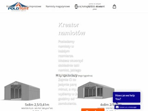 Polotent.pl namioty targowe