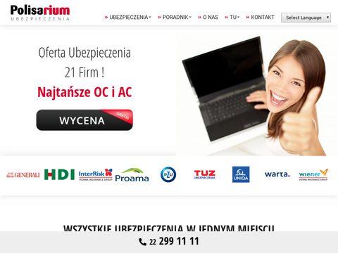 Polisarium.pl - agencja ubezpieczeniowa