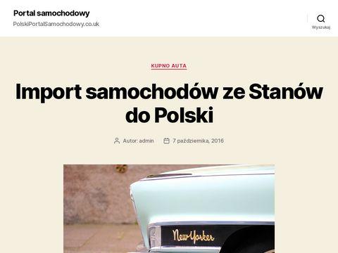 Polskiportalsamochodowy.co.uk ogłoszenia