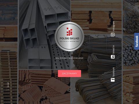 Polski Skład materiały budowlane Zawonia