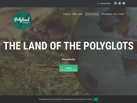 Polyland.pl tłumacz przysięgły