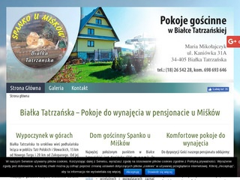 Pokojedowynajeciawbialce.pl