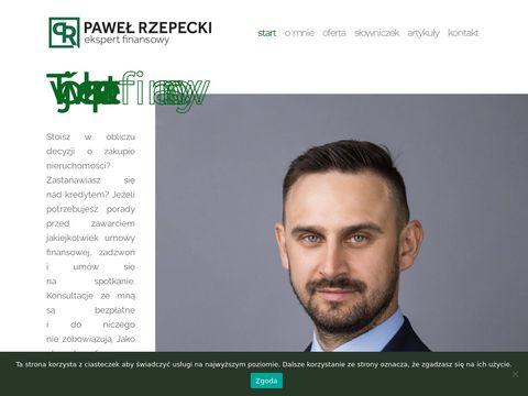 Pawelrzepecki.pl ekspert kredytowy Szczecin