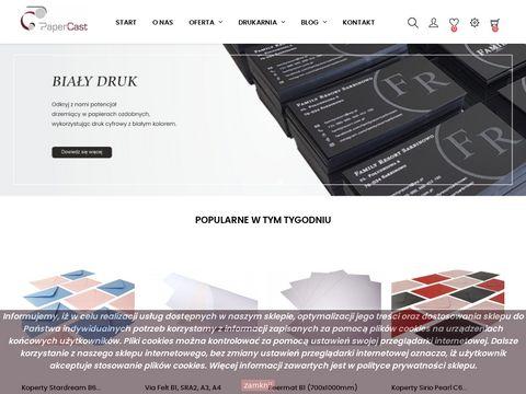 Papercast.pl papier ozdobny