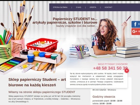 Papierniczystudent.pl artykuły papiernicze Gdańsk
