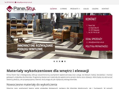 Panelstyl.com.pl - kamień elewacyjny
