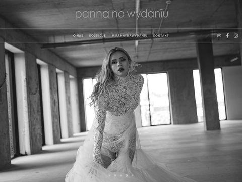 Pannanawydaniu.com.pl Salony sukien ślubnych Łódź