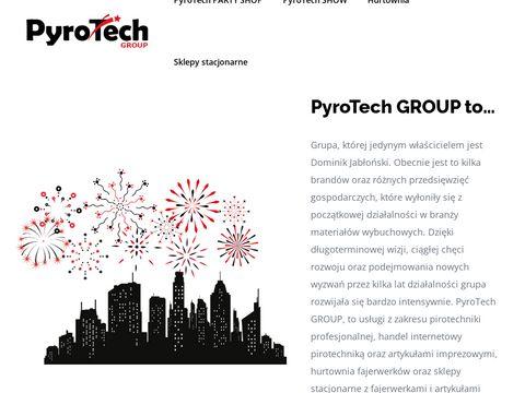 PyroTech.pl pokazy fajerwerków