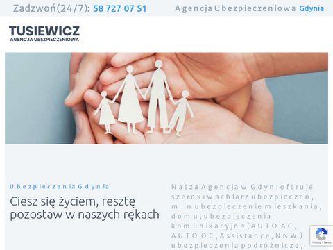 Pzugdynia.pl ubezpieczenie oc