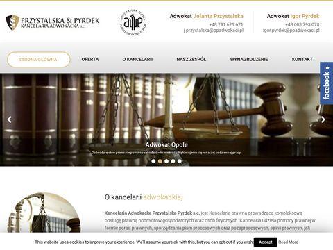 Przystalska & Pyrdek prawnik adwokat