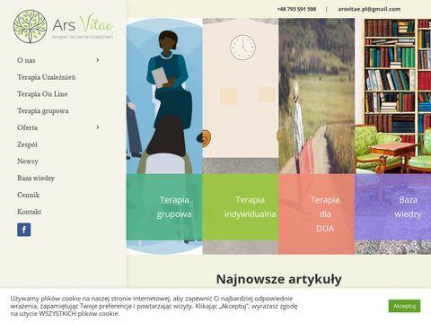 Psychoterapiawawa.org.pl Ars Vitae