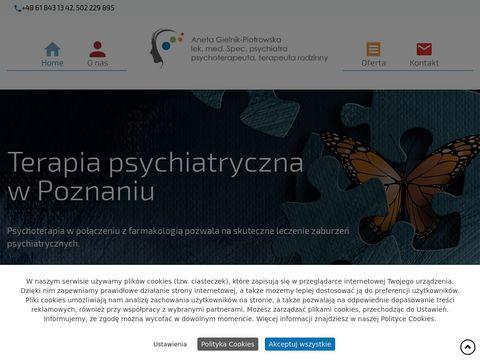 Psychiatrapoznan.com Aneta Gielnik-Piotrowska terapia