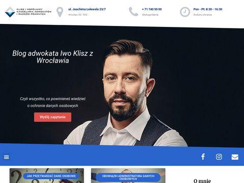 Przetwarzanie-danych-osobowych.pl blog adwokata