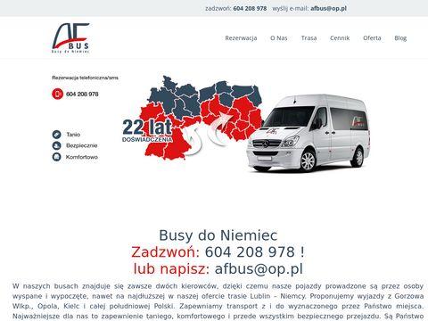 Przewozydoniemiec.net