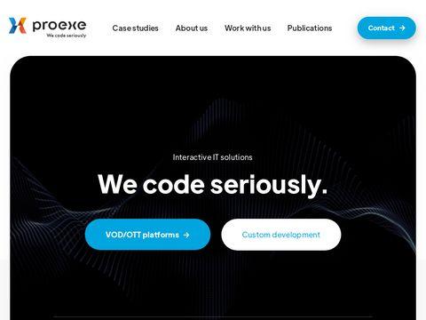 Proexe.pl - aplikacje mobilne