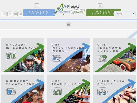 Projektefektywny.pl organizacja imprez dla firm