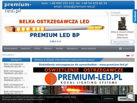 Premium-led.pl belki ostrzegawcze