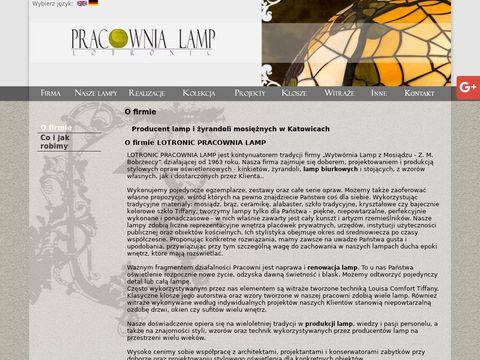 Lotronic lampy zabytkowe