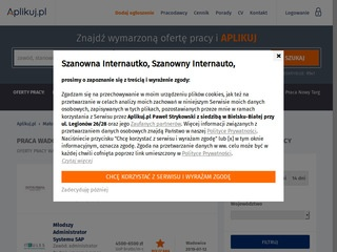 Praca-wadowice.pl regionalny portal pracy
