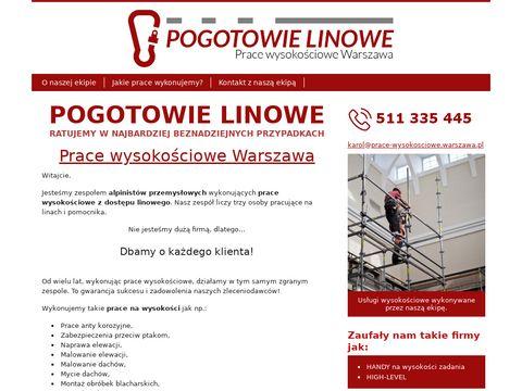 Prace-wysokosciowe.warszawa.pl