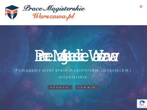 Pracemagisterskiewarszawa.pl