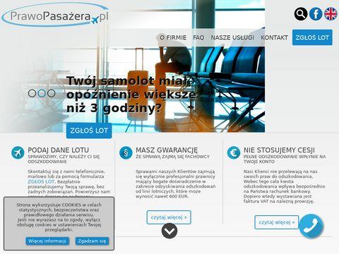 Prawopasazera.pl reklamacja u przewoźnika lotniczego