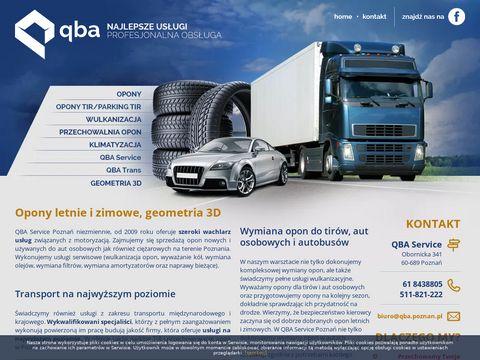 Qbaservice.pl - wymiana opon