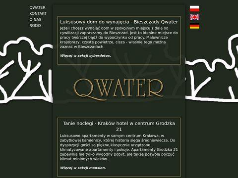 Qwater.eu spokojne miejsce do pracy twórczej