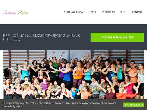 Zmianarytmu.pl zajęcia fitness w Sztumie