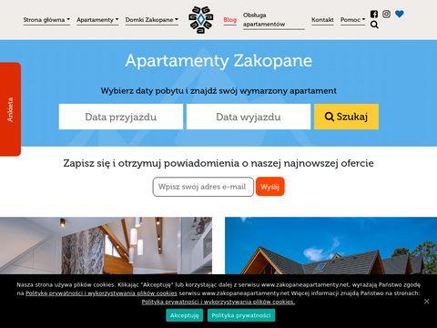 Zakopaneapartamenty.net noclegi