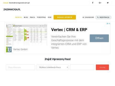 ZaGranica24.pl - serwis ogłoszeń o prace
