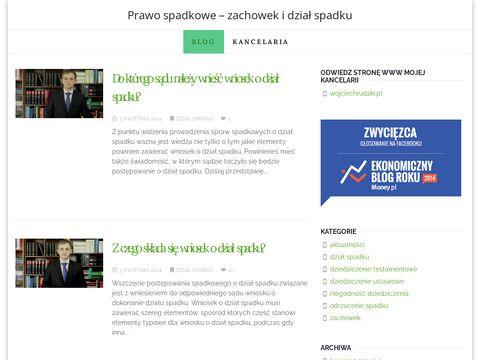Zbyciespadku.pl - zachowek, dział spadku