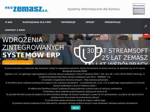 Zemasz oprogramowanie Streamsoft Pro