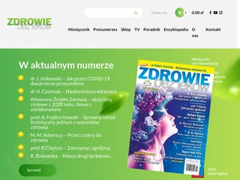 Zdrowiebezlekow.pl medycyna alternatywna