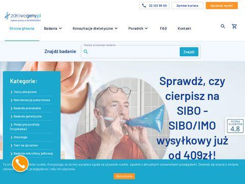 Zdrowegeny.pl platforma badań genetycznych