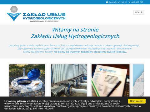 ZUH dokumentacje geologiczne Gdańsk