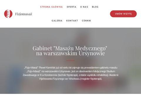 Fizjomasaz.com.pl klasyczny