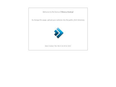 FitnessFood.pl - eko sklep z żywnością