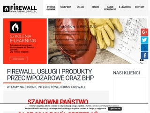 Firewall-ppoz.pl instrukcje bezpieczeństwa