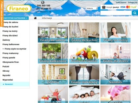 Firanex.net polecamy firany