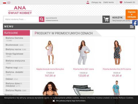 FirmaAna.pl - bielizna korygująca online