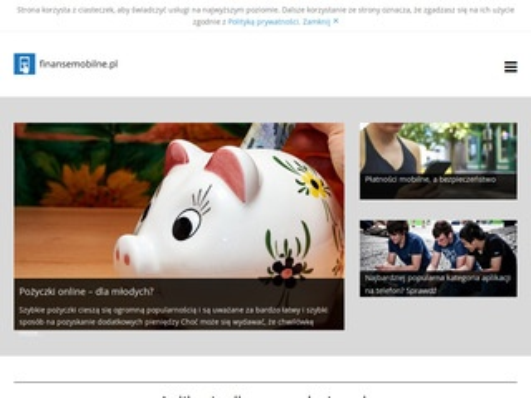 Finansemobilne.pl - blog finansowy