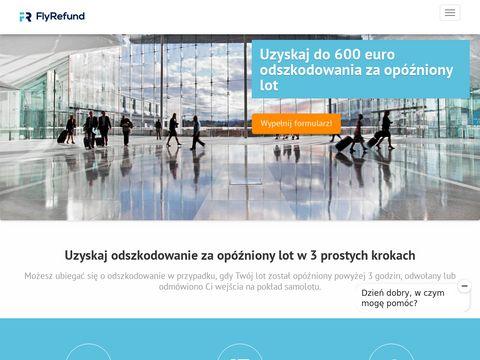 Flyrefund.pl odszkodowania lotnicze